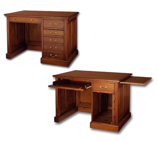 Письменный стол из массива дерева малайзия
